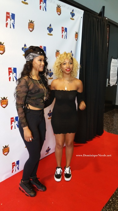 Cymphonique Miller and Zonnique GMGB red carpet